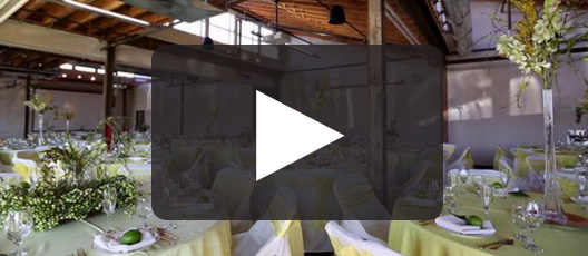 Envision Your Wedding Against The Backdrop Of Industrial Brick Exposed Ceiling Timbers And Clerestory Windows At Living Room